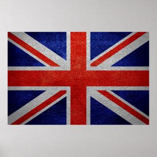 United Kingdom Flag Vintage Poster