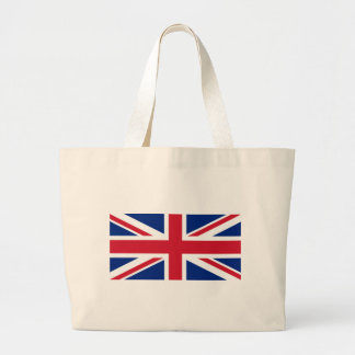 United Kingdom flag, whole or detail view Large Tote Bag