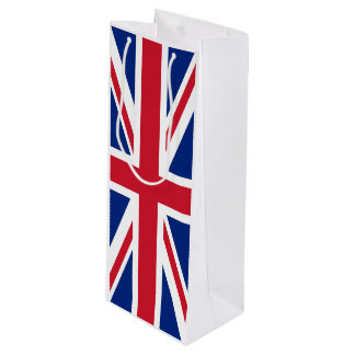 United Kingdom flag Wine Gift Bag