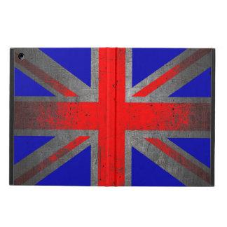 United Kingdom grunge neon flag ipad air case