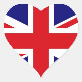 UNITED KINGDOM HEART STICKER