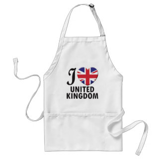 United Kingdom Love Aprons