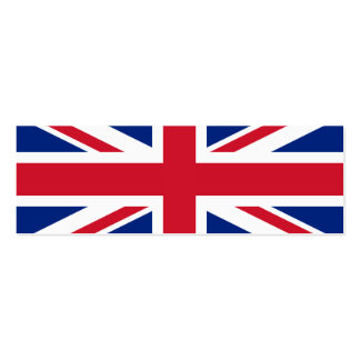 United Kingdom National Flag Business Cards