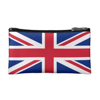 United Kingdom National Flag Cosmetics Bags