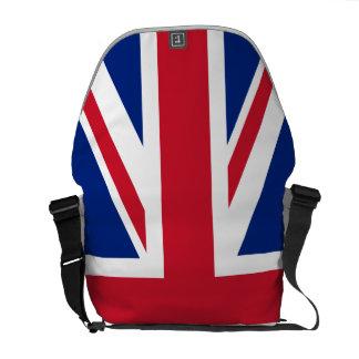 United Kingdom National Flag Messenger Bags
