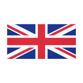 United Kingdom National World Flag Canvas Print