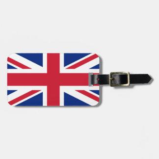 United Kingdom National World Flag Luggage Tag