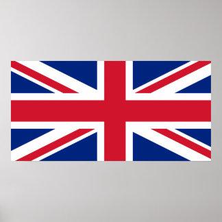United Kingdom National World Flag Poster