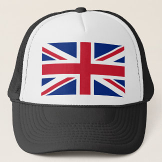 United Kingdom National World Flag Trucker Hat