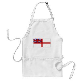 United Kingdom Naval Ensign White Ensign Adult Apron