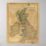 United Kingdom of England, Scotland and Ireland Posters