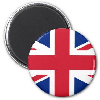 United Kingdom of Great Britain 6 Cm Round Magnet