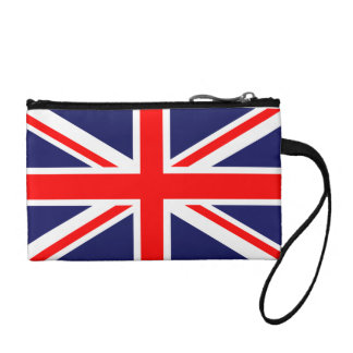 United Kingdom of Great Britain Union Jack Flag Coin Wallet