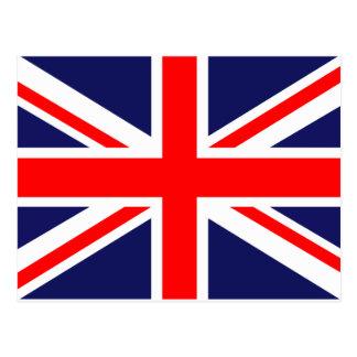 United Kingdom of Great Britain Union Jack Flag Post Card