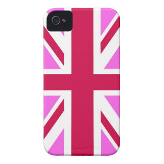 united kingdom pink flag gay proud great britain Case-Mate iPhone 4 cases