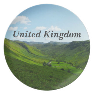United Kingdom Plate
