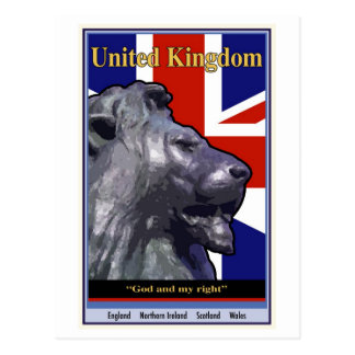 United Kingdom Postcard
