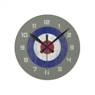 United Kingdom roundel Round Clock