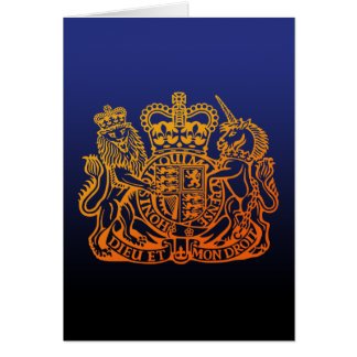 United Kingdom Seal Card