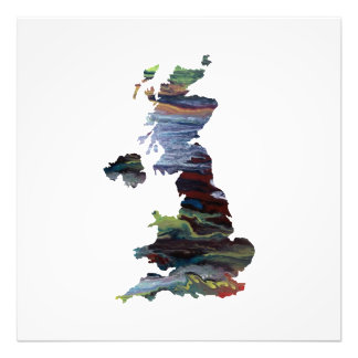 united kingdom silhouette photo print