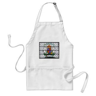 UNITED KINGDOM STAINED GLASS RICHARD III STANDARD APRON