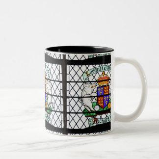 UNITED KINGDOM STAINED GLASS RICHARD III Two-Tone COFFEE MUG