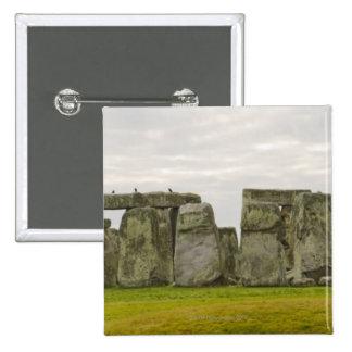 United Kingdom, Stonehenge 10 15 Cm Square Badge