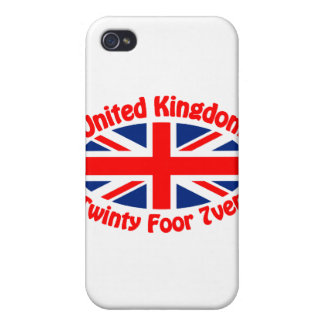 United Kingdom - Twinty Foor 7ven iPhone 4/4S Cases