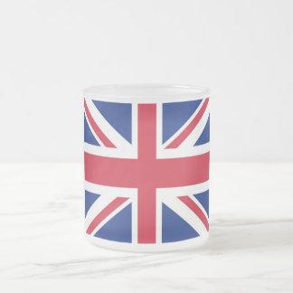 United Kingdom/UK/British Flag Frosted Mug