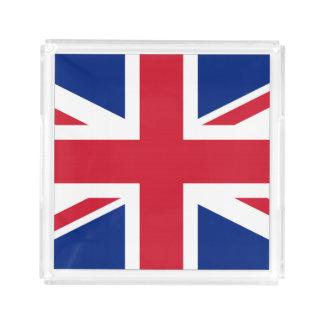 United Kingdom UK Flag Acrylic Tray