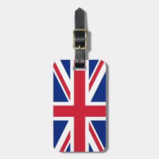 United Kingdom UK Flag Luggage Tag