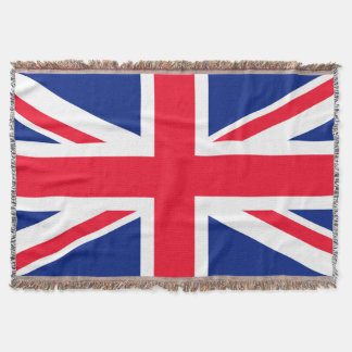 United Kingdom UK Flag Throw Blanket