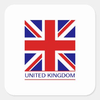 United Kingdom - Union Jack Flag Square Sticker