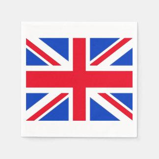 United Kingdom Union Jack Paper Party Napkins Paper Napkins