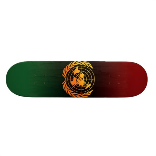 United Nations 2 Skate Decks