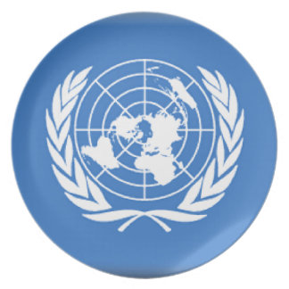 United Nations Dinner Plate