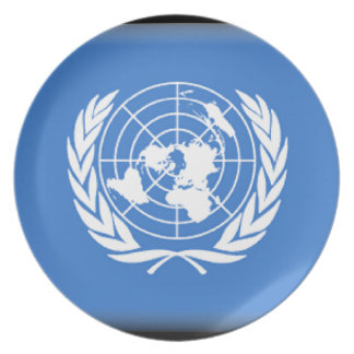 United Nations Dinner Plates