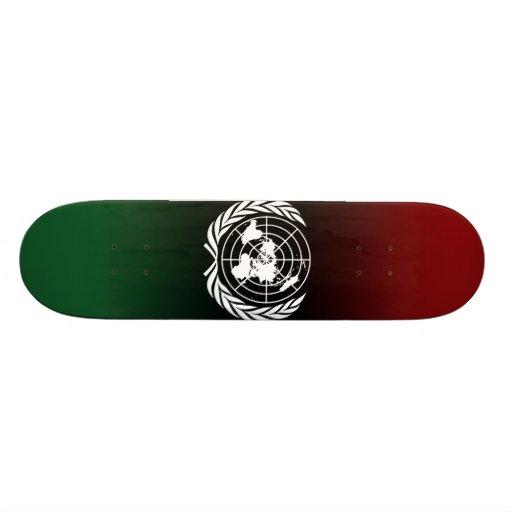 United Nations Custom Skate Board