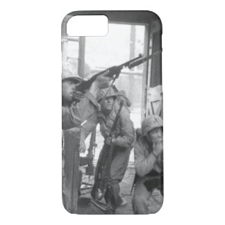 United Nations troops fighting _War Image iPhone 7 Case
