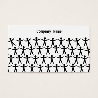 United People, Company Name Business Card
