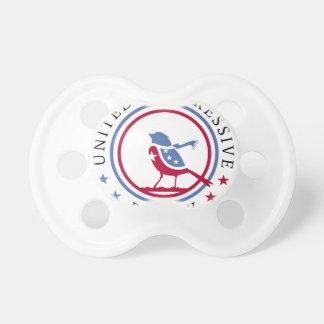 United Progressive Party Scarf Logo Merchandise Baby Pacifier