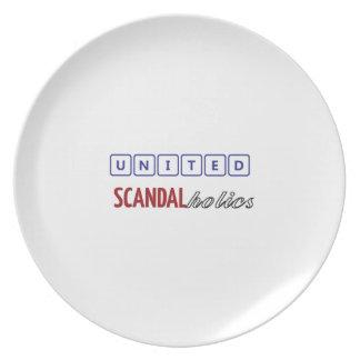 united scandalholics plate