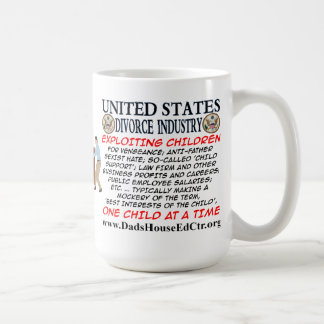 United State Divorce Industry Mug. Basic White Mug