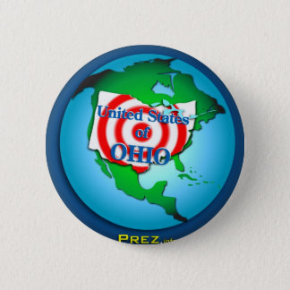 United State of Ohio 6 Cm Round Badge