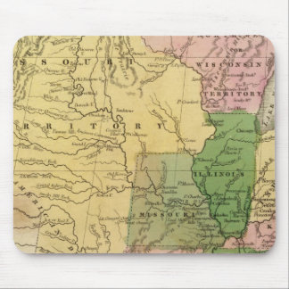 United States 13 Mouse Pad