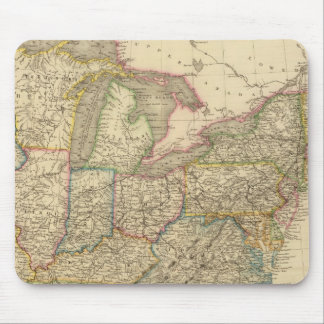 United States 21 Mouse Pad