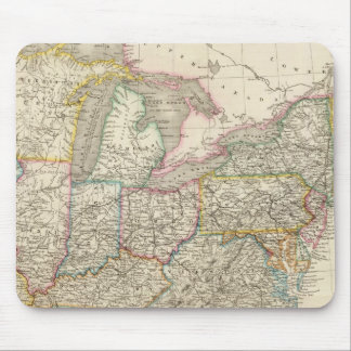 United States 3 Mouse Pad