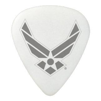 United States Air Force Logo - Black Acetal Guitar Pick