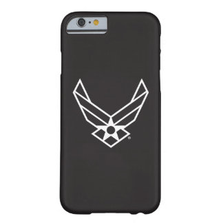 United States Air Force Logo - Black Barely There iPhone 6 Case
