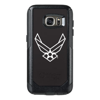 United States Air Force Logo - Black OtterBox Samsung Galaxy S7 Case